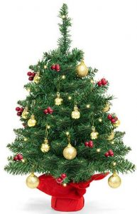 Best Choice Products 22 inches battery operated tabletop Christmas tree