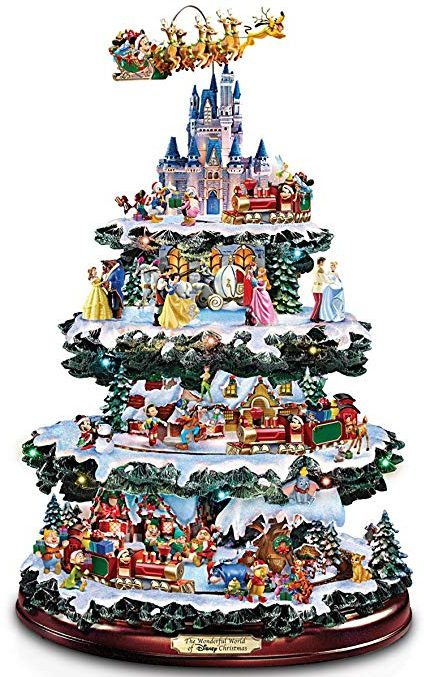 Bradford Exchange the Disney tabletop Christmas tree