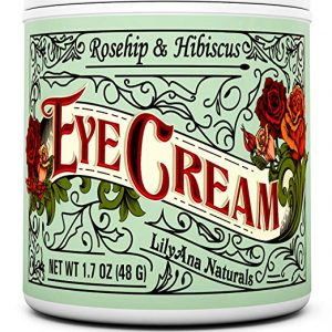Eye Cream Moisturizer by LilyAna Naturals