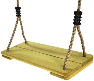 HappyPie Nostalgic Children to Adult Wooden Hanging Swings Seat