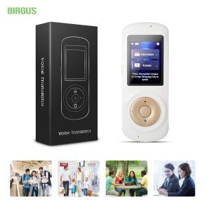 Instant voice language translator device by Birgus