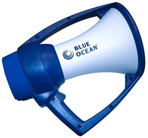 blue ocean megaphone