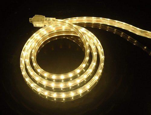 LED Rope Light 110-120V AC Flexible Flat LED Strip Rope Light