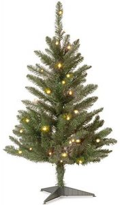 National Tree 3 foot Kingswood Fir wrapped pencil tree