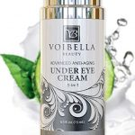 Natural anti-aging under eye cream by Voibella Beauty