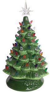 Pinkada Lighted tabletop ceramic tree