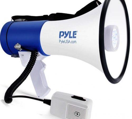 Pyle Portable Compact PA MegaphonePMP51LT