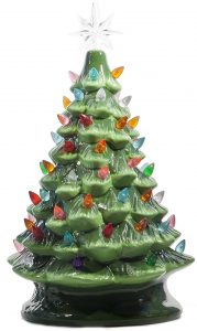 ReLive Christmas tree tabletop Christmas tree, 14.5 inches
