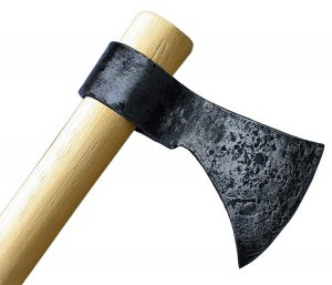 """Throwing Axe - 19"""" Hand Forged Hatchet From High Carbon Steel"""