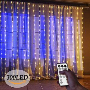 Window curtain lights by starSolar