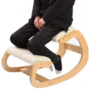 Ergonomic Kneeling Chair for Upright Posture