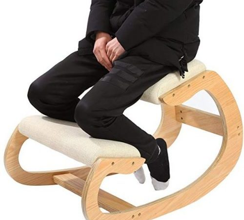 Ergonomic Kneeling Chair for Upright Posture