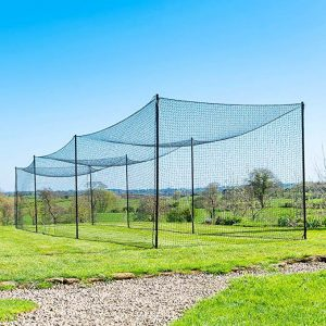 FORTRESS Ultimate Baseball Batting Cage [20', 35', 55', 70']