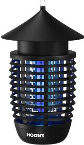 Hoont Powerful Electric Indoor Bug Zapper and Fly Zapper Catcher Killer Trap