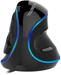 J-Tech Digital wired ergonomic vertical USB