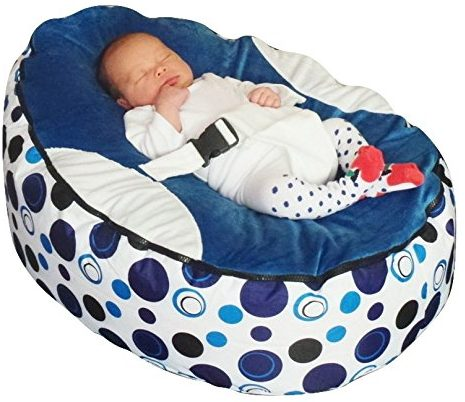 Bear Print Podster Infant Lounger