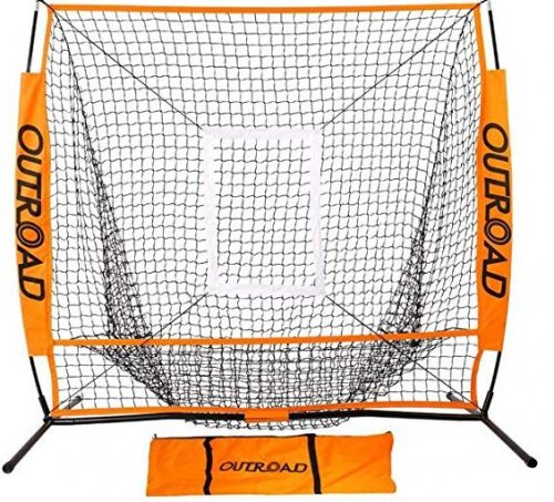Outroad Baseball Nets Batting & Pitching 5 x 5/7 x 7