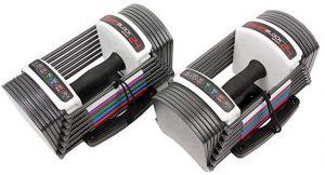 POWERBLOCK LLC Power Block GF-SPDBLK24 Adjustable SpeedBlock Dumbbells
