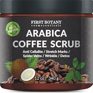 100% natural Arabica Coffee Scrub by First Botany Cosmeceuticals