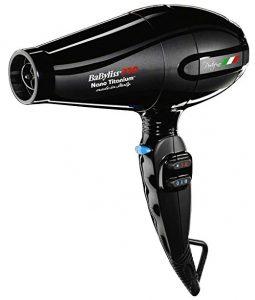 BaByliss Hair Dryer Nano Titanium Portofino Full-size Dryer