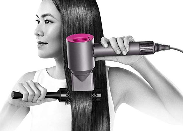 Hair Dryer Dyson Supersonic - Hair Dryer Iron/ Fuchsia