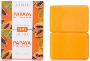 Papaya whitening soap- for natural skin lightener