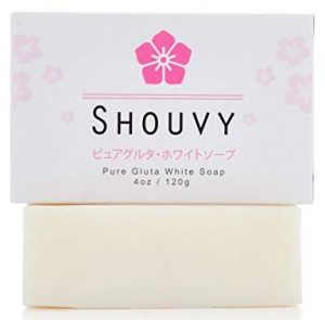 Pure Glutathione whitening bleaching soap by Shouvy