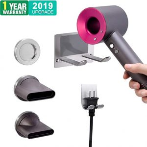XIGOO Hair Dryer Holder Compatible with Hair Dryer Dyson