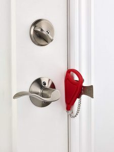 Addalock- 1 piece portable door lock by Rishon Enterprises Inc