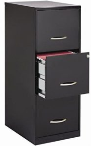 Cooper 3 Drawer Letter File cabinet by Office Designs