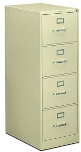 HON 4-Drawer filing cabinet