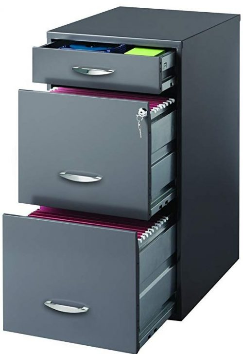 Hirsh SOHO 3Drawer file cabinet by CommClad