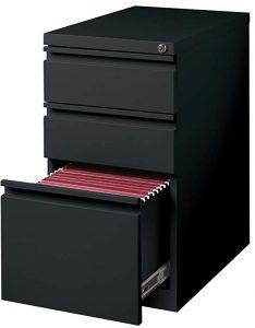 Hirsh industries 3 drawer mobile file cabinet