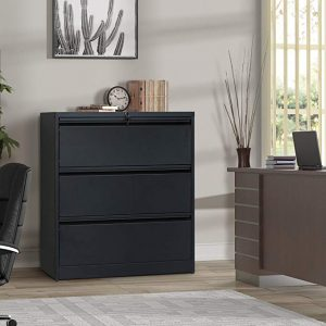 Modern Luxe heavy-duty Lateral file cabinet