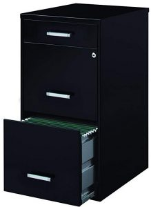 3-Drawer File Cabinets