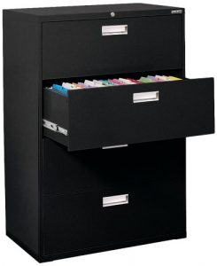Sandusky Lee Lateral File Steel 4-drawer cabinet