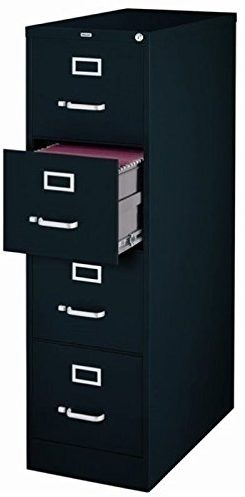 Scranton & Co 4-drawer 22 deep letter file cabinet
