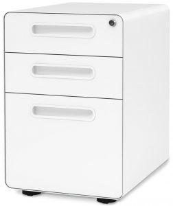 DEVAISE 3-drawer mobile file cabinet