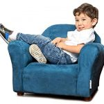 Keet Roundy Microsuede Children's chair