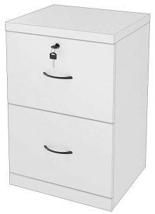 Z-Line Designs 2-drawer white vertical file