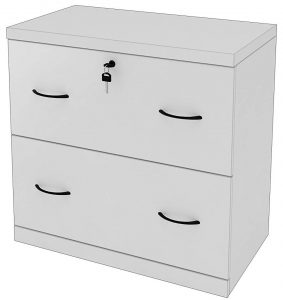 Z-Line designs 2-drawer White Lateral file