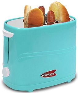 Americana by Elite ECT 542BL Retro pop-up hot dog toaster
