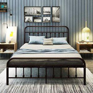 DUMEE Metal Bed Frame Queen size platform