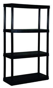 6- Gracious Living 4 Medium Duty Shelf Unit