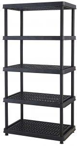 Keter 5-shelf Heavy Duty Utility Freestanding Ventilated shelving unit