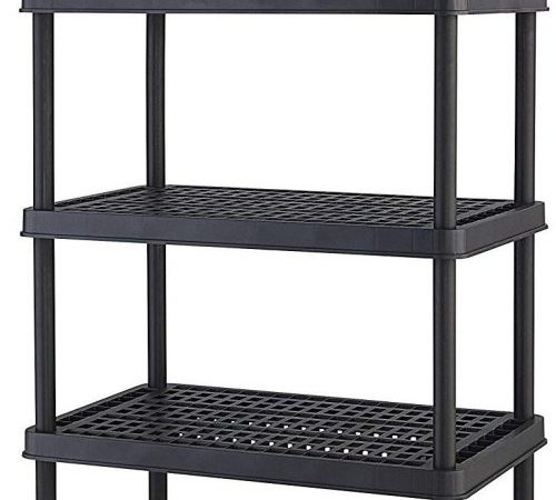 Keter 5-shelf Heavy Duty Utility Freestanding Ventilated shelving unit