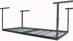 MonsterRax 4×8 overhead garage storage rack