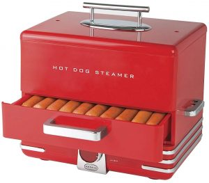 Nostalgia Large HDS248RD INNOVA dinner style hot dog toaster