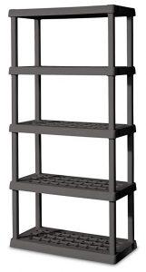 Sterilite 01553V01 5 shelf Unit