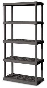 Sterilite 01553V01 5-shelf unit